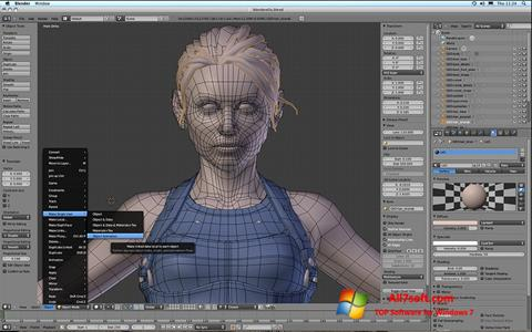 Screenshot Blender per Windows 7