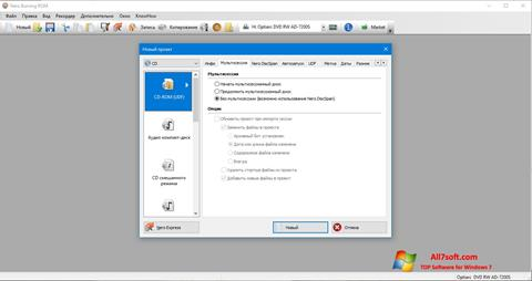 Screenshot Nero per Windows 7