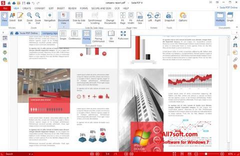 Screenshot Soda PDF per Windows 7