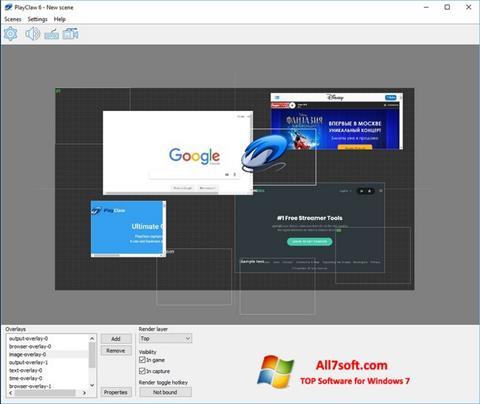 Screenshot PlayClaw per Windows 7