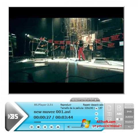 Screenshot BSPlayer per Windows 7