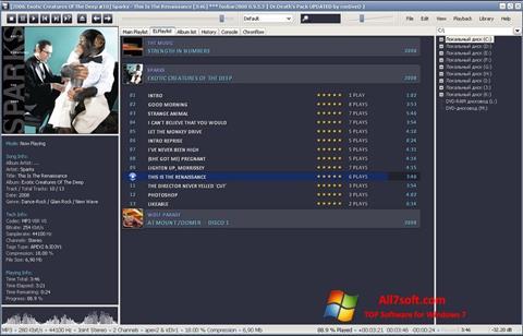 Screenshot Foobar2000 per Windows 7