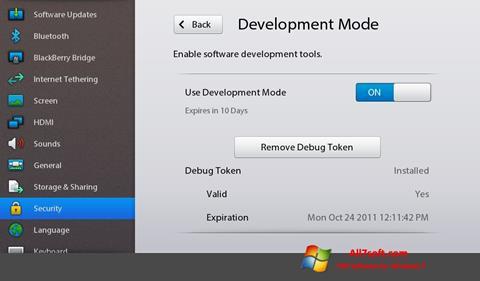 Screenshot Adobe AIR per Windows 7