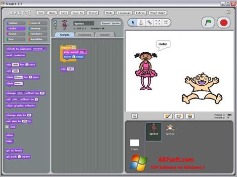 Screenshot Scratch per Windows 7