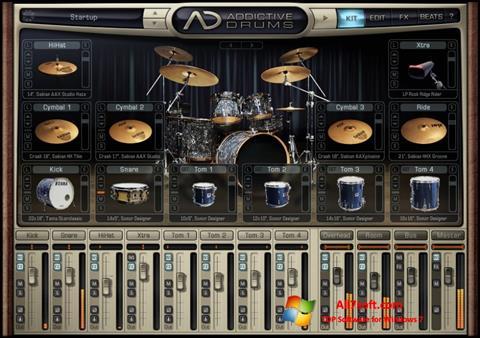 Screenshot Addictive Drums per Windows 7