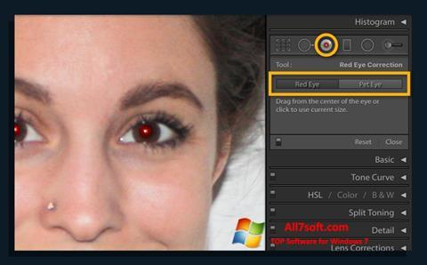 Screenshot Red Eye Remover per Windows 7