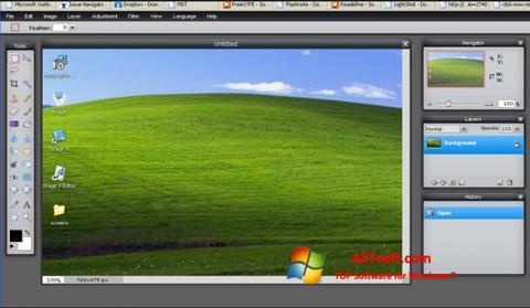 Screenshot LightShot per Windows 7