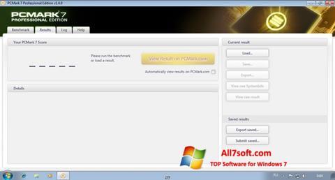 Screenshot PCMark per Windows 7
